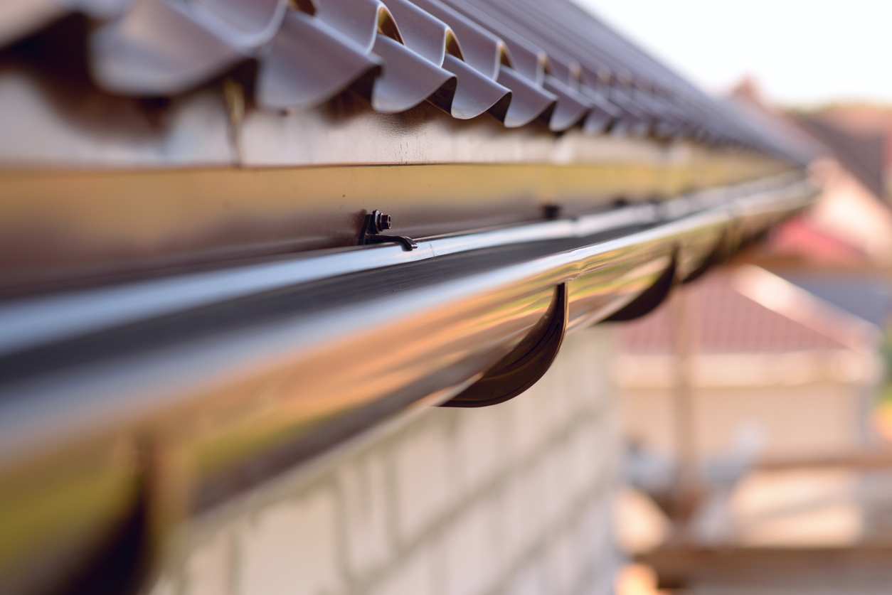 installing a new gutter system to your home
