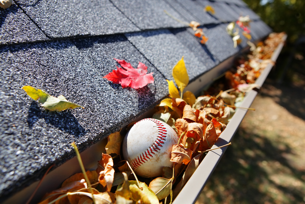 Common Items That Clog Your Gutters Ct Roofers
