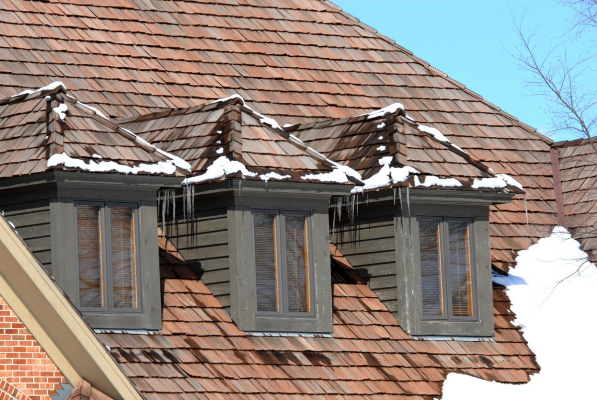 Triple Dormer and Cedar Shingles