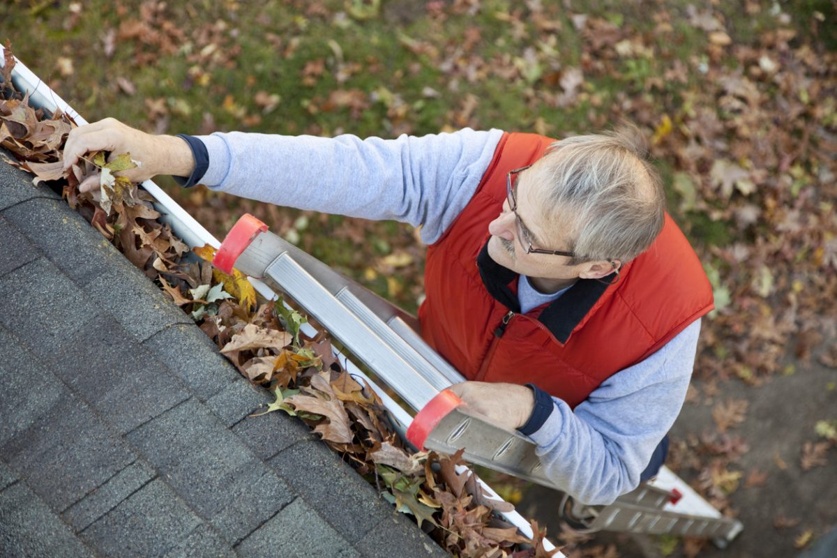 Tips for Safely Cleaning Your Gutters
