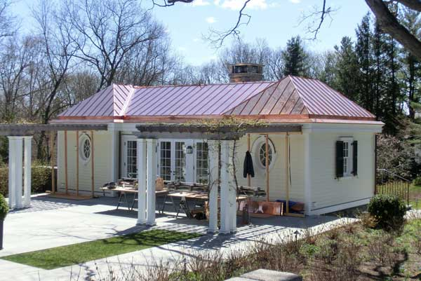 Copper & Metal Roof Installation Fairfield County | Darien | Westchester